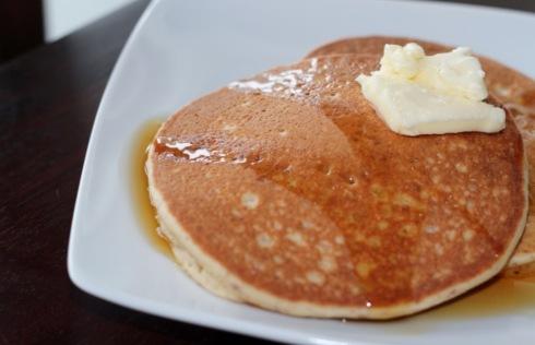 Almond-Coconut Pancakes